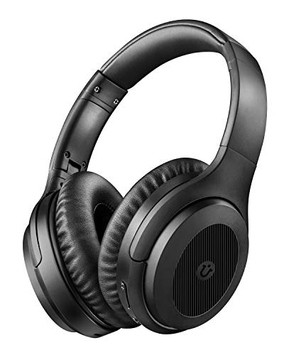 Noise Cancelling Kopfhoerer Bluetooth Kopfhörer Utaxo Bluetooth 5.0 Over Ear Ohrhörer Wireless ANC Headset mit CVC 8.0 Mikrofon 30 Std Spielzeit für iOS Android TV