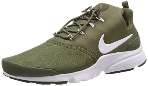 Nike Herren Presto Fly Fitnessschuhe, Mehrfarbig (Medium Olive/White/Black 204), 44 EU