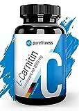 ULTRA HOCHDOSIERT - L Carnitin Rein & Laborzertifiziert I 3000 mg - Tagesportion I Vegan mit Carnaubawachs I 120 Tabletten I Beliebt in Definitionsphase-Bodyshaping I Premium Qualität