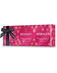 Bronnley Coffret Savon Grenade & Hedychium Philippinense 3 Bars de 300 g