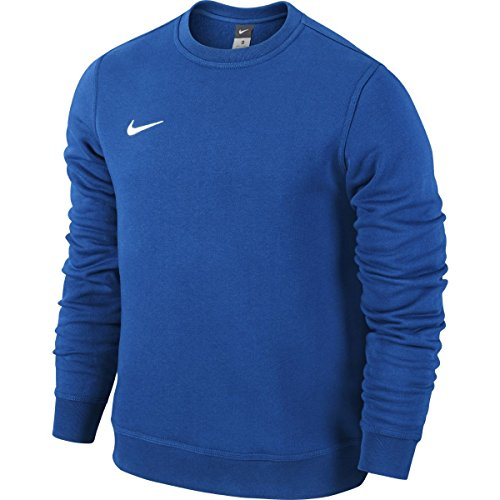 Nike Team Club Crew - Maglione girocollo a maniche lunghe, Uomo, Royal Blue/Football White, L