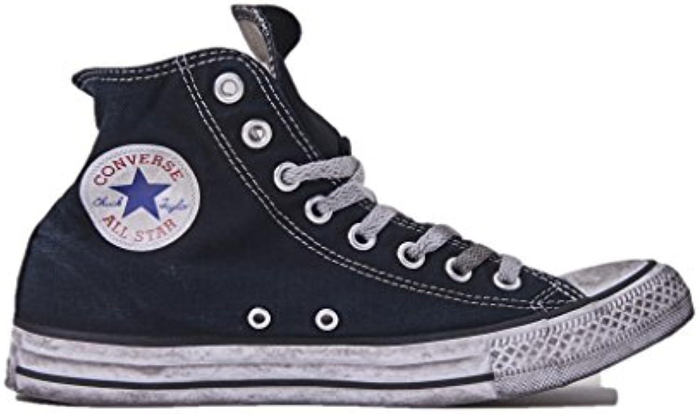 Converse Sneakers Unisex  Chuck Taylor Ltd 156886C/BLACK Smoke  in Tela Colore Nero  All Star Hi Ltd  Nuova Collezione