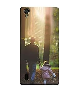 Snapdilla Designer Back Case Cover for Vivo Y15S :: Vivo Y15 (Sun Walkthrought Effection Autumn Park)