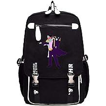 Cosstars JoJo s Bizarre Adventure Anime Mochila Escolar Estudiantes Mochila  para Portátil Backpack Bolsa Casual aab70fa92deb
