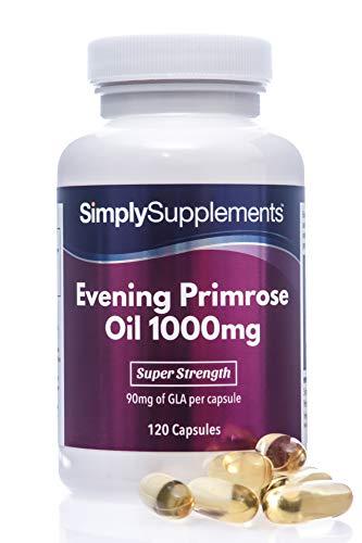 Aceite onagra 1000 mg - ¡Bote 4 meses! - 120 Cápsulas