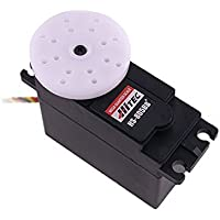 Angelelec DIY Open Sources, Hitec 805Bb+ Mega 1/4 Scale Servo (24.7Kg), The Hs-805Bb Uses a Heavy Duty Nylon Gear Train and a Strong 10Mm, 15 Tooth Output Shaft to Generate 343In./Oz. of Torque. - Heavy Duty Pole