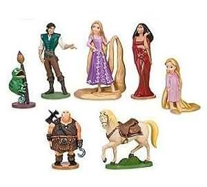 Disney Set coffret 7 figurines Raiponce Disney