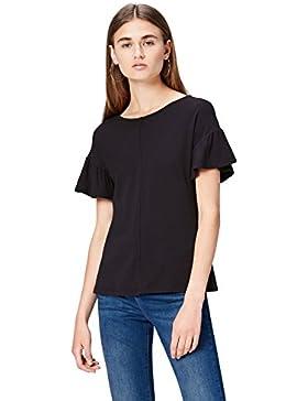 FIND T-Shirt con Volant Donna