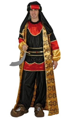 Imagen de disfraz de principe arabe  adultos talla 2