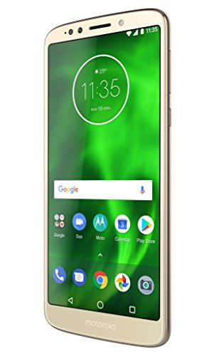 Motorola Moto G6 Play - Smartphone de 5.7' HD+ (Android 8.0 Oreo, 3 GB, 13 MP con Enfoque automático, TurboPower, Qualcomm Snapdragon 430) Oro