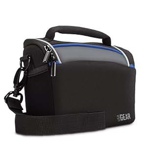 USA Gear Sac de protection Durable avec pluie et intercalaires réglables pour appareil photo numérique