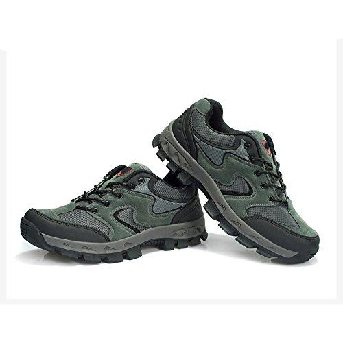 CHT Automne Et D'hiver Amateurs De Plein Air De Randonnée Alpinisme Chaussures Hommes Taille Multi-codes Rouge Vert Brun Gris En Option gray-women-42