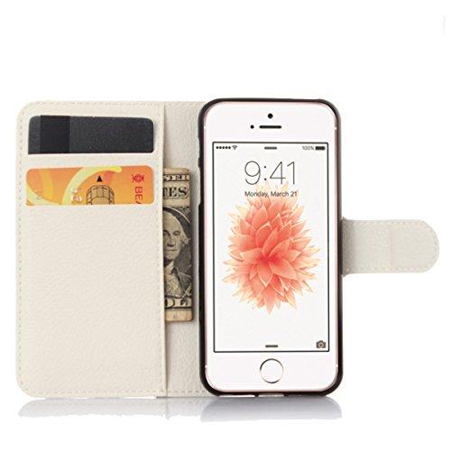 iPhone 4S Coque, iPhone 4S portefeuille Coque, Lifeturt [ Perle Fleur ] Livre cuir de qualité supérieure Wallet Case Cover pour iPhone 4S E02-09-Cyan Diamant