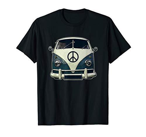 Hippie-Hippie-Friedensweinlese-Retro Kostüm-Hippie-Geschenk - Hippie Shirt Kostüm