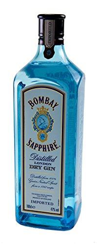 Bombay Sapphire London Dry Ginebra - 1 x 1 l