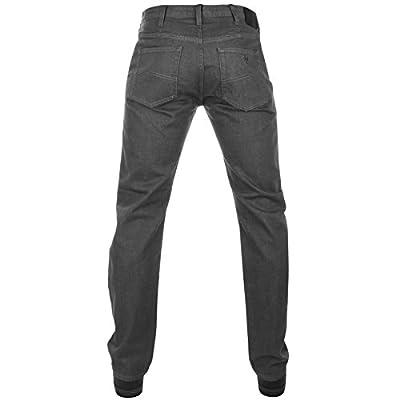 Mens Armani Jeans J21 Regular Fit Jeans Grey