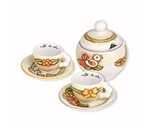 Thun set of 2 espresso zuccheriera country p1354a91 for Saldi thun amazon