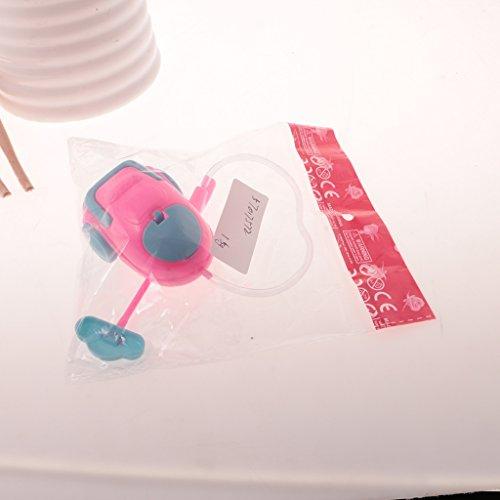 MagiDeal 1:6 Bambola Casa Di Miniatura Arredamento Kit Accessori Aspiravolvere Strumenti Di Pulizia Plastica Per Barbie FR Momoko
