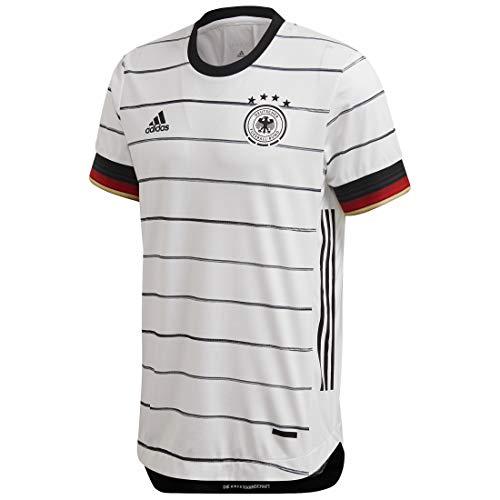 adidas Performance DFB Authentic Trikot Home EM 2020 Herren weiß/schwarz, L