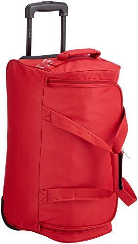 Les Petites Bombes Morgane Sac de Voyage, 53 cm, 52 L, Rouge
