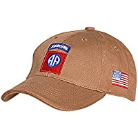 Fostex US Army Baseball Cap 82nd Airborne Division Parachute Infantry Paratrooper
