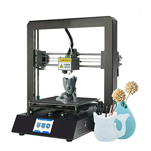 Colorfish A12 impresora 3d con impresión de currículum, sensor de filamento, tamaño de impresión 210 x 210 x 205 mm