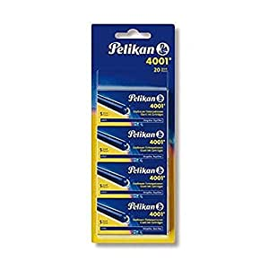 Pelikan Gtp/5-4/B Cartouches d'encre Bleu foncé