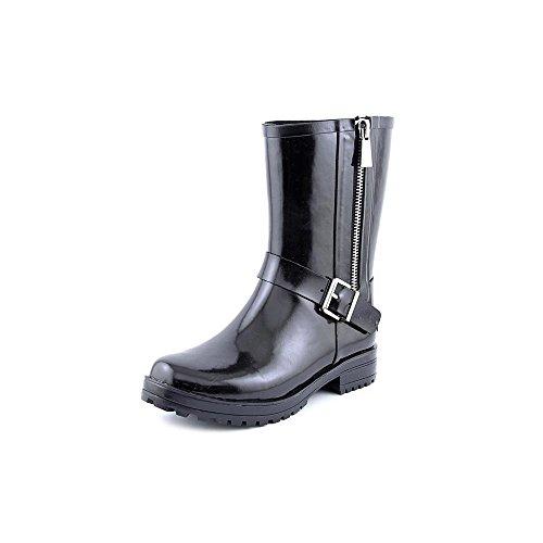 Guess Raindrop Femmes Caoutchouc Botte de Pluie Black