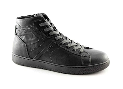 BLACK JARDINS 4360 hommes chaussures gris mi sportif zip lacets baskets Grigio