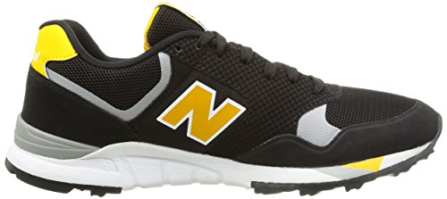 New Balance NBML850MKY Sneaker, Uomo Black/yellow