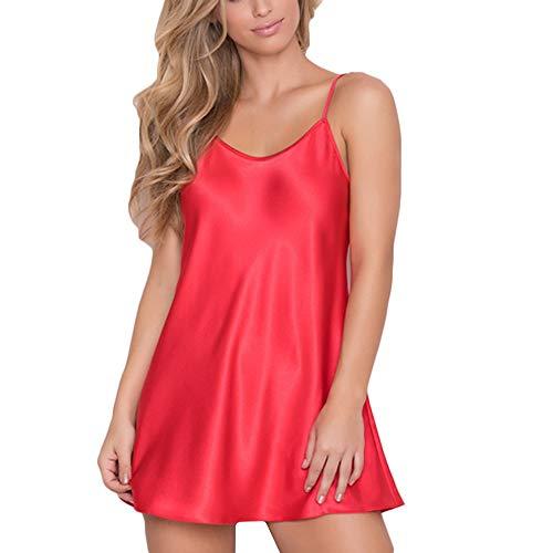hmtitt Womens Sexy Lingerie, Ladies Nightdress Plus Size Nightwear Sleepwear Babydoll Nightwear Sleepskirt Underwear -