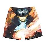 GFDSH Costume Uomo Mare Fiori Ananas Beer Gatti Stampato 3D Bermuda da Bagno Asciugatura Rapida Calzoncini Elasticizzato Costumi Pantaloncini Surf Hawaiano Spiaggia Casual Short XXL