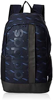 adidas Unisex' Linear Graphic Backpack, Blue/B