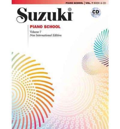 [(Suzuki Piano School, Vol 7: Book & CD )] [Author: Alfred Publishing] [Jul-2010]