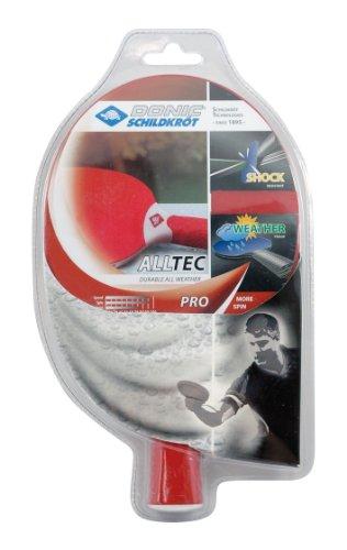 Donic-Schildkröt Kunststoffschläger TT Alltec Pro, rot, 733012