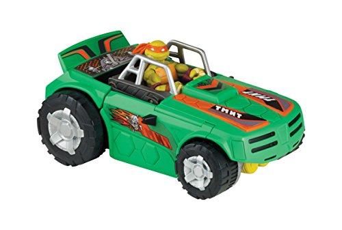 Giochi Preziosi - Turtles, Veicolo Trasformabile Turbo Charger