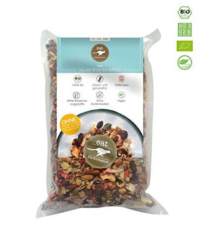 eat Performance® Winter Müsli (1000g) - Bio, Paleo, Glutenfreies Granola Aus 100% Natürlichen Zutaten