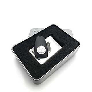 YIKA chrom Metall Apple Tree Embleme Badge Key Cover