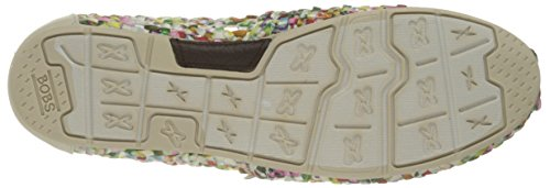 Bobs by Skechers Luxe Bobs-Fresh Cut Toile Mocassin White-Multi