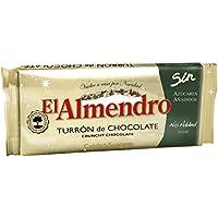 El Almendro Turrón de Chocolate Crujiente sin Azúcares Añadidos - 200 gr