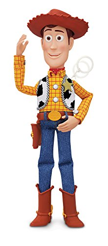 MTW Toys 64071 - Disney Pixar Toy Story - Sprechender Sheriff Woody, Actionfiguren, 12 x 37 x 8 (Woody Disney)