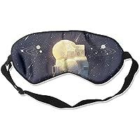 Eye Mask Eyeshade Astronaut Universe Sleeping Mask Blindfold Eyepatch Adjustable Head Strap preisvergleich bei billige-tabletten.eu