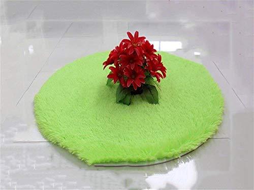Daily mat Wasch- und Staubsaugen Teppich Teppich rund - Langhaar Teppich - Rutschhemmender Teppich Home, Durchmesser-160CM,# 8 -