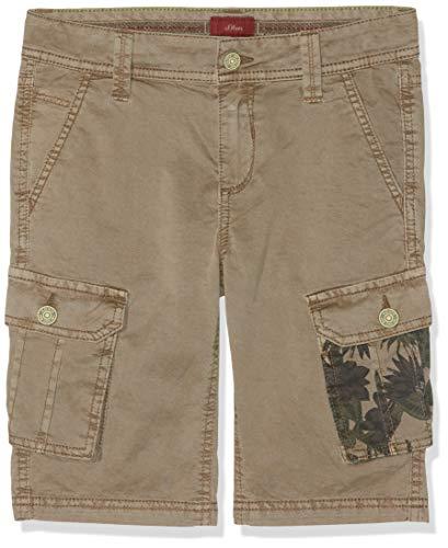 s.Oliver Jungen 61.904.74.5874 Hose, Braun (Brown 8516), 176 (Herstellergröße: 176/BIG) Big Boys Pants