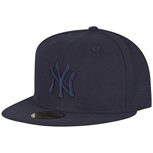 New Era Homme Casquettes / Fitted Tonal Poly NY Yankees 59Fifty Marine