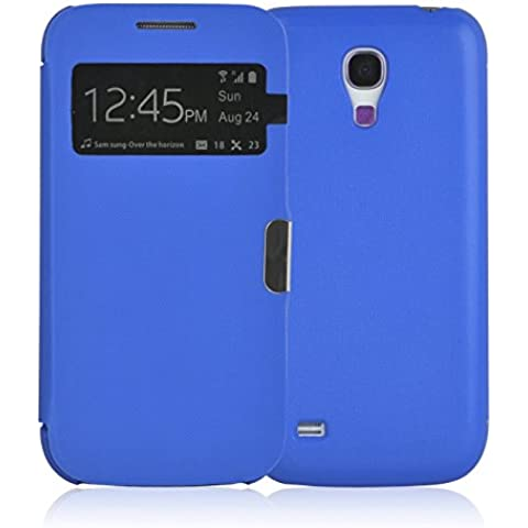 JAMMYLIZARD | Funda Smart View Para Samsung Galaxy S4 MINI Flip Cover Case Con Cierre Magnético,
