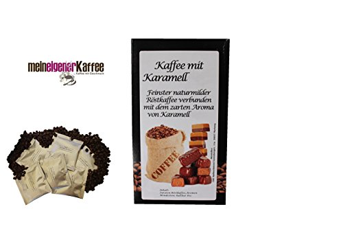 Kaffeepads Premium aromatisierter Kaffee (Karamel)