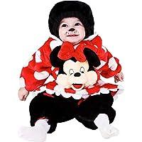 507c4c6462cc COSTUME di CARNEVALE da PICCOLA TOPOLETTA vestito per neonato bambino 3-12  Mesi travestimento veneziano