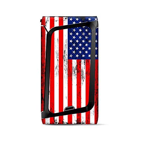 Skin/Aufkleber für Smok Morph 219, Vinyl, Motiv amerikanische Flagge, Rot/Weiß/Blau