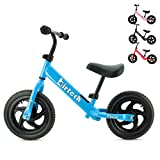 Balance Bike for 2 3 4 5 6 Years Old Boys Girls, Carbon Steel Frame No Pedal Walking Balance Bike Training Bicycle for Kids and Toddlers ( blue)